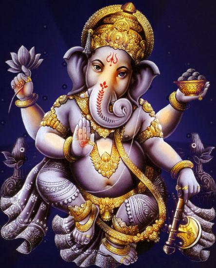 Ganesha/Vinayakar Chaturthi, ekadanta, heramba, lambodara