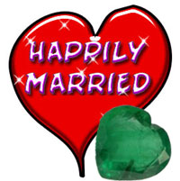Emerald Gemstone for Happy Marriage