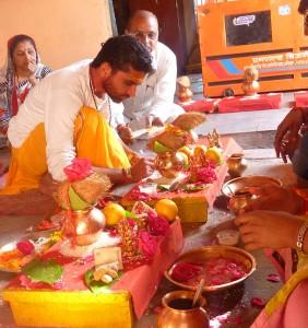 Individual Mangal Pooja at Shri Mangalnath, Ujjain