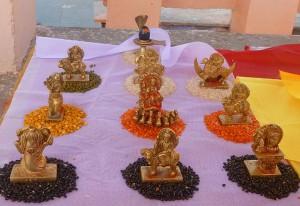 Navagraha Poojan at Shri Mangalnath, Ujjain