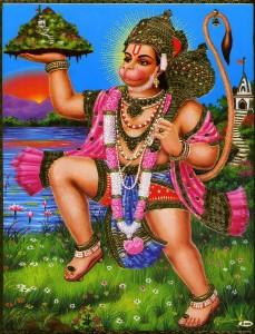 Hanumanji Tail Pooja