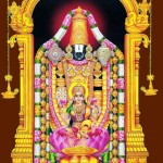 Shri Balaji and Goddess Lakshmi