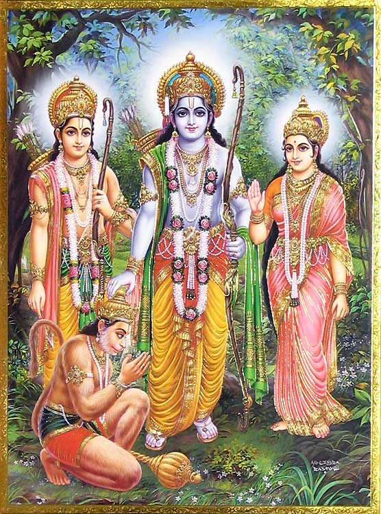 Bajran Baan- mantra to please Hanumanji