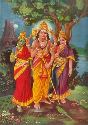 Skanda Shashti-Prayers to the Powerful Lord Subramanya, Karthikeya, son of Lord Shiva and Devi Parvati