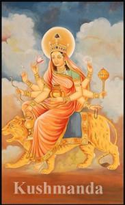 Durga day 4-Khushmanda