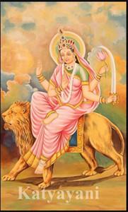 Durga day 7- Katyayani