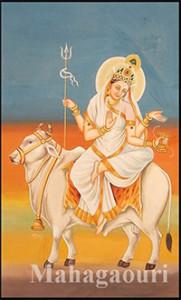 Durga day 8- Maha Gouri