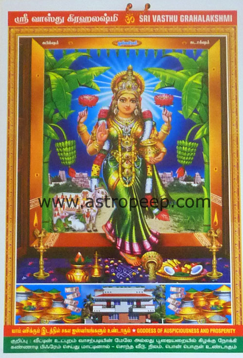 Vasthu Lakshmi Photo And How To Install At Home