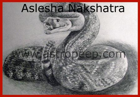 Aslesha Nakshatra