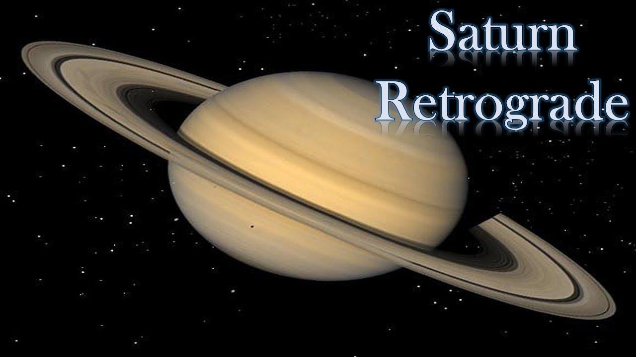 Saturne rétrograde 2016