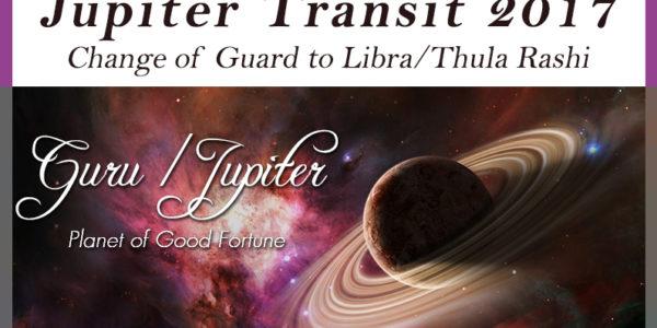 Jupiter Transit 2017 – Guru Peyarchi 2017