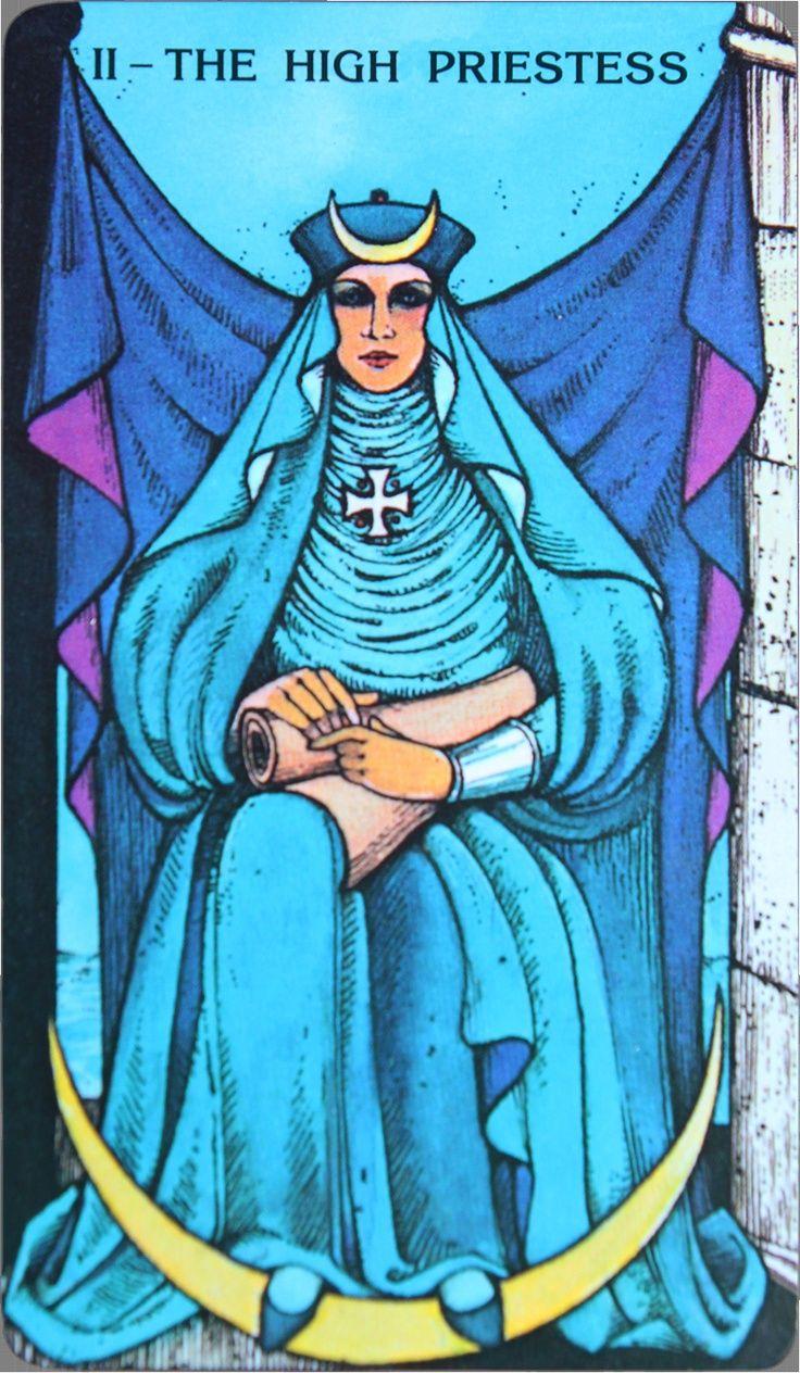 High Priest- Tarot 2018